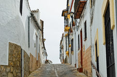 Street in the ancient Ronda Stock Images
