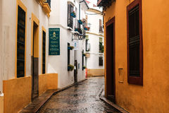 Street in andalucia Royalty Free Stock Images