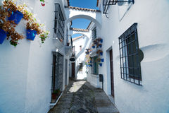 Street Andalusia in Poble Espanyol Royalty Free Stock Photo