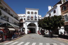 Andalusian town Nerja, Spain Stock Photography