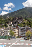 Street of Andorra Royalty Free Stock Images