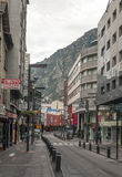 Street of Andorra Stock Images
