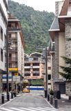 Street of Andorra Stock Photography