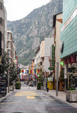 Street of Andorra Stock Photos