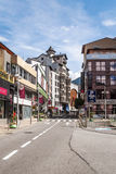 Street of Andorra Royalty Free Stock Photo
