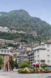 Street of Andorra la Bella Royalty Free Stock Image