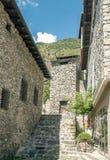 Street of Andorra la Bella Stock Photos
