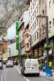 Street at Andorra la Vella Stock Images