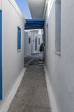 Street in Ano Koufonisi island, Cyclades, Greece Stock Image
