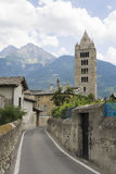 Street in Aosta Stock Images