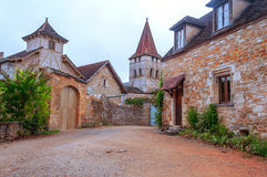 Street in Aquitaine Royalty Free Stock Photo