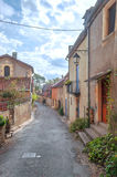 Street in Aquitaine Stock Images