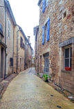 Street in Aquitaine Stock Photography