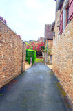 Street in Aquitaine Royalty Free Stock Images