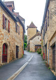 Street in Aquitaine Royalty Free Stock Photos