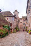 Street in Aquitaine Royalty Free Stock Photography