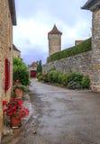 Street in Aquitaine Stock Image