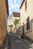 Street in Aquitaine Royalty Free Stock Photos
