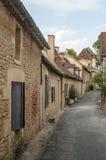Street in Aquitaine Royalty Free Stock Photo