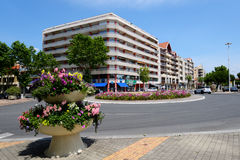 Street of Arcachon, France Royalty Free Stock Photo