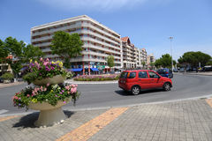 Street of Arcachon, France Stock Images