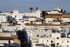 A street of Arcos de la Frontera Royalty Free Stock Photos