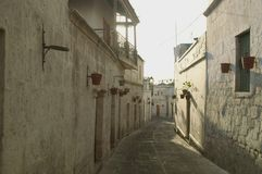 Street in Arequipa Royalty Free Stock Image