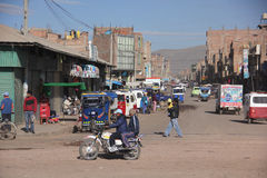 Street in Arequipa, Peru Royalty Free Stock Image