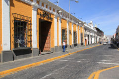 Street in Arequipa, Peru Royalty Free Stock Photography