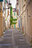 Street of Arles stock image
