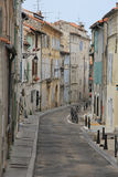 Street in Arles, France Stock Images