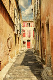 The street in Arles Royalty Free Stock Photo