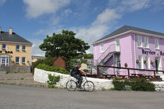 Street in Arranmore, Ireland Royalty Free Stock Images