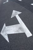 Street arrow Royalty Free Stock Images