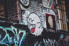 Street Art royalty free stock photography