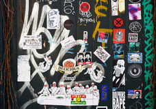 Street art in Amsterdam Royalty Free Stock Image