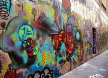 Street art in Australia, Airlie Beach Royalty Free Stock Image