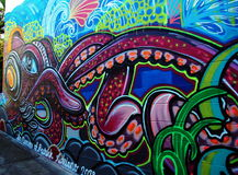 Street art in Australia, Airlie Beach Stock Photos