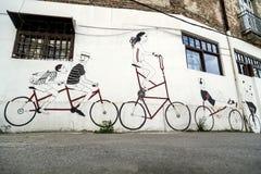 Street art in Belgrade, Serbia Royalty Free Stock Photos