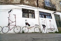 Street art in Belgrade, Serbia Royalty Free Stock Image