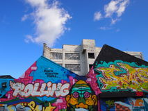Street Art in Birmingham, England Stock Photos