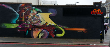 Street Art, Brixton, London Stock Image