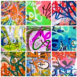 Street art collection Royalty Free Stock Image