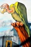 Street art condor Stock Photography