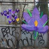 Street art at East Harlem in New York Stock Images