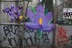 Street art at East Harlem in New York Stock Image