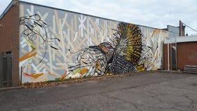 Street Art-Fliege lizenzfreies stockbild