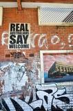 Street Art: Fremantle, Western Australia stock images