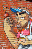 Street art goon Royalty Free Stock Photos