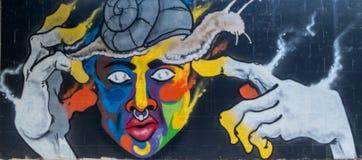 Street art graffiti of abstrac art vector illustration